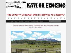 Kaylor Fencing B